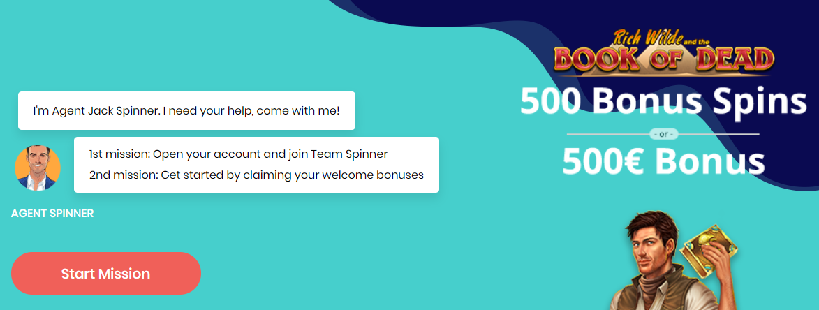 agentspinner freespins