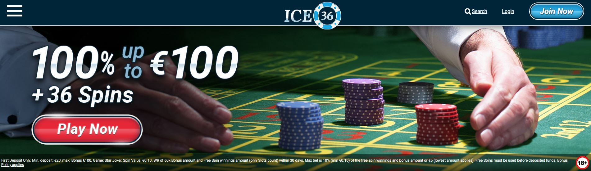 ice36 freespins