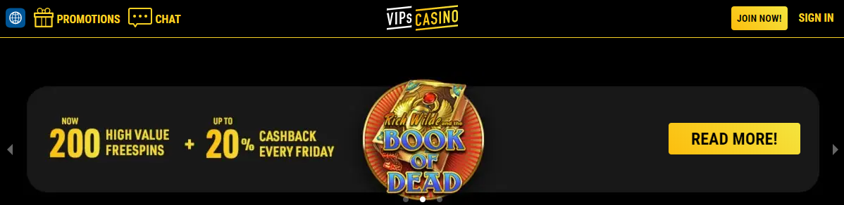 vipscasino Superspins