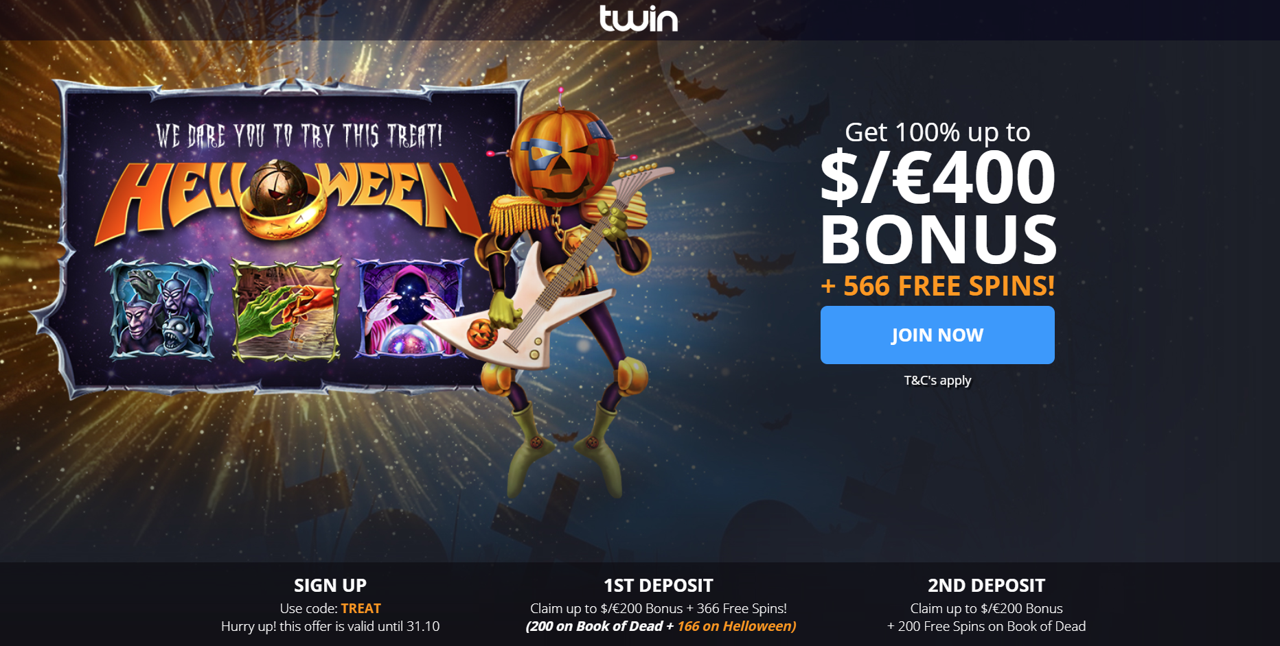 Twin Freespins