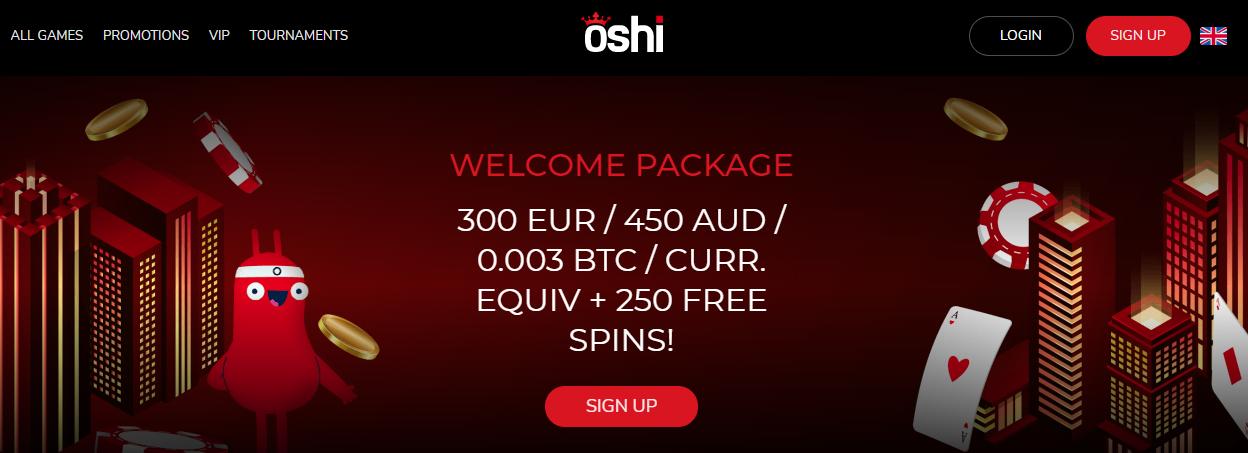 Oshi Freespins