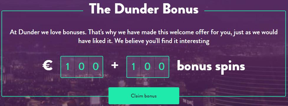 Dunder Freespins
