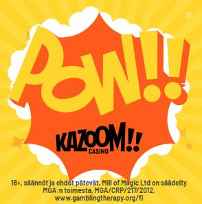 Kazoom Casino Freespins