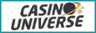 20 Freespins no deposit at CASINOUNIVERSE