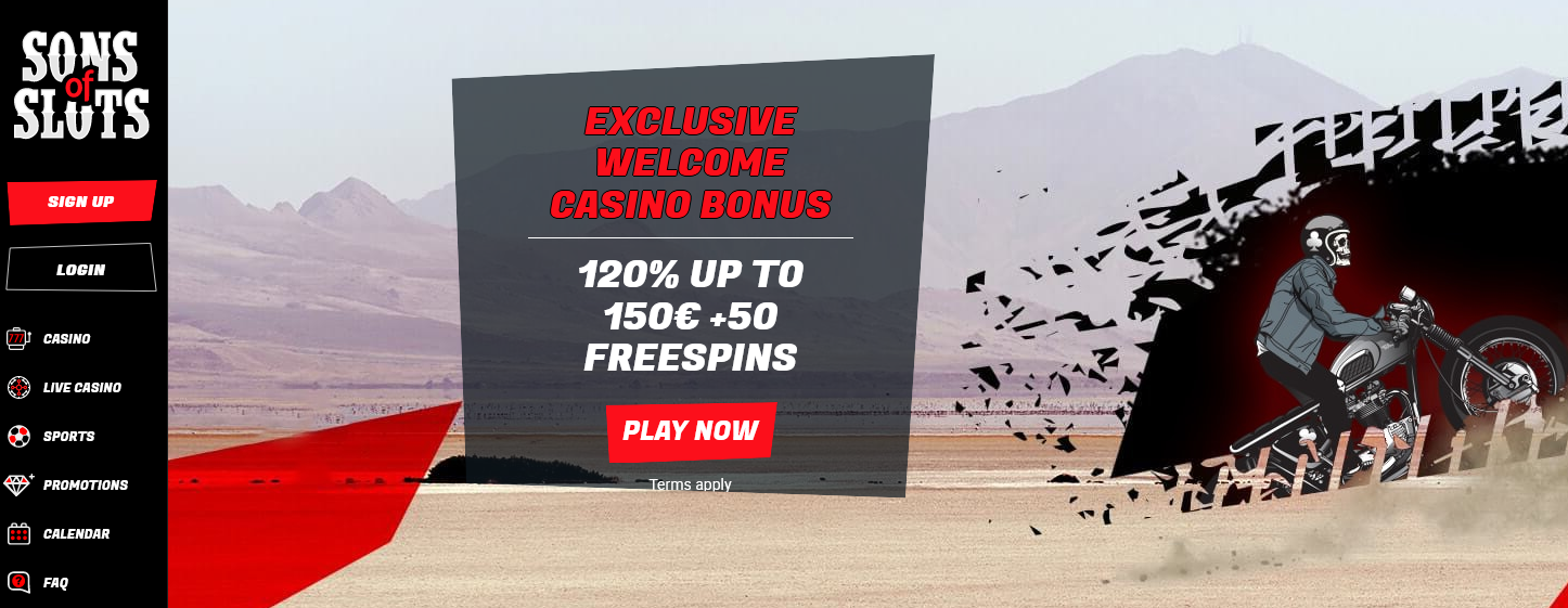 Sons of Slots Freespins